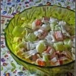 Light salad - cucumber,...