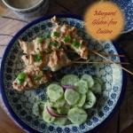 Kurczak Satay z sosem...