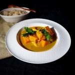 Słodki ziemniak w curry...