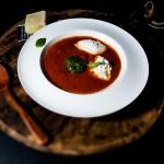 Zupa pomidorowa z pesto...