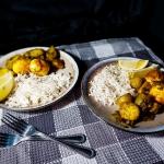Curry jajeczne z ryżem...