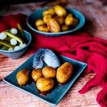 Karmelizowane ziemniaki...