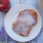 Placuszki z jablkiem