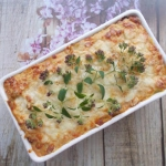 Lasagne z sosem z...