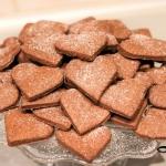 Kakaowe kruche ciasteczka