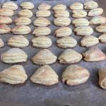 Ciasteczka Gęsie łapki