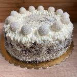 Tort kokosowy z białą...
