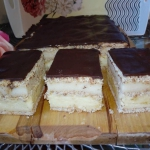 Ciasto serowo - mannowe...
