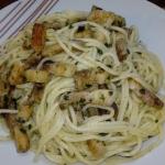 Spaghetti z boczkiem i...
