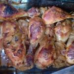 Pałki z kurczaka...