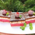 Malinowe (ciasto bez...