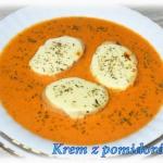 Krem pomidorowy z...