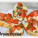 Bruschetta z pomidorami...