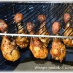 Wiszące pałki kurczaka