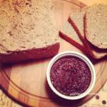 Od kuchni..Chleb razowy...