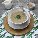 Zupa krem z pieczerek z...