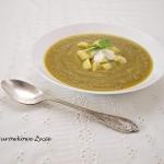 Zupa krem z brokułów w...