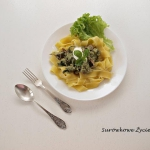 Makaron pappardelle z...