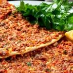 Turecka pizza lahmacun