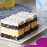 Ciasto makowo kokosowe