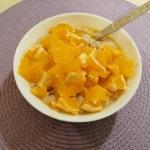 Jaglanka z pomarańczą