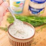 Sos chrzanowy z jogurtem