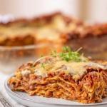 Wegańska lasagne z...