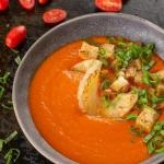 Zupa krem pomidorowa z...