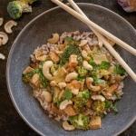 Tofu w sosie hoisin z...