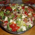Mix sałat z sałatkowym...