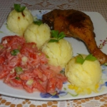Kacze udka, ziemniaki,...
