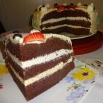 Tort kakaowy o smaku...