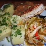 Schabowy, ziemniaki i...