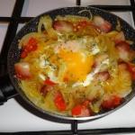 Kurze jajko na ostrym...