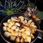 Jabłka karmelizowane