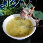 Zupa wiosenna z cukinii...