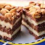 Ciasto snickers - bez...