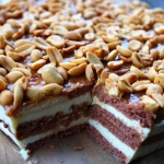 Ciasto snickers – bez...