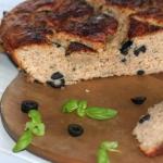 Chleb z oliwkami i...