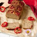 Piwny chleb serowy z...
