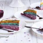 Tęczowy tort...