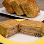 3 warstwowy tost z...
