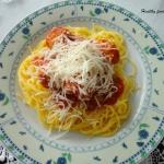 Spaghetti z klopsikami...