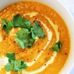 Carrot & coriander soup...