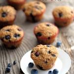 Muffinki z borówkami.