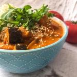 Curry z bakłażana –...