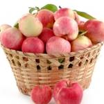 Prażone jabłka na...