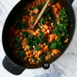 Curry z batatami,...