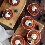 Zdrowe muffinki na mące...
