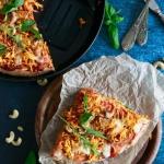 Zdrowa pizza orkiszowa z...
